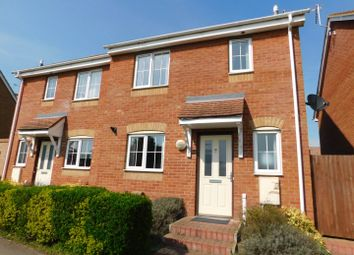 Thumbnail 3 bed semi-detached house for sale in Chilton Way, Stowmarket