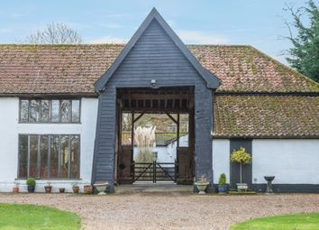 Thumbnail 5 bed barn conversion for sale in Topcroft Street, Topcroft, Bungay