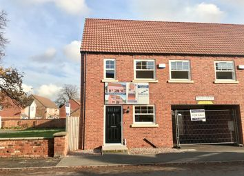 Thumbnail 3 bed semi-detached house for sale in Wesley Court, Billingborough, Sleaford