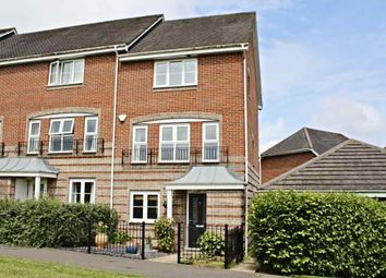 Thumbnail 4 bed town house for sale in Burghfield Walk, Worting, Basingstoke