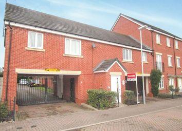 Thumbnail 1 bed flat for sale in Greenock Crescent, Monmore Grange, Wolverhampton
