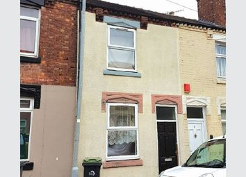 Thumbnail 2 bedroom terraced house for sale in Lewis Street, Stoke-On-Trent