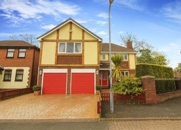 Thumbnail 5 bed detached house for sale in Wansbeck Mews, Ashington
