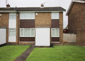 Thumbnail 2 bed terraced house to rent in Thornley Avenue, Mayfield Dale, Cramlington