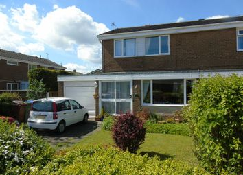 Thumbnail 3 bed semi-detached house for sale in Druridge Drive, Blyth