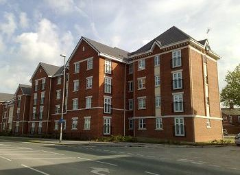 Thumbnail 2 bed flat to rent in Points House, Crewe, Cheshire