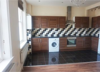 Thumbnail 4 bed flat to rent in Flaxman Road, London