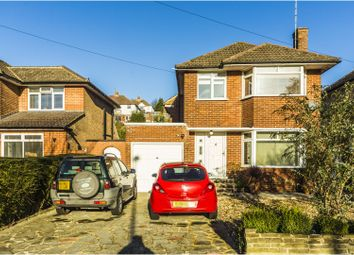 Thumbnail 3 bed detached house for sale in Mitchley Avenue, South Croydon