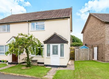 Thumbnail 2 bedroom semi-detached house for sale in Paddock Way, Chedburgh, Bury St. Edmunds