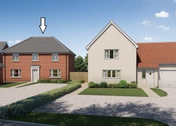 Thumbnail 4 bed detached house for sale in Chapel End Way, Stambourne, Halstead