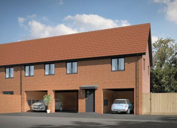 Thumbnail 2 bed terraced house for sale in Cranfield Road, Wooton, Bedforshire
