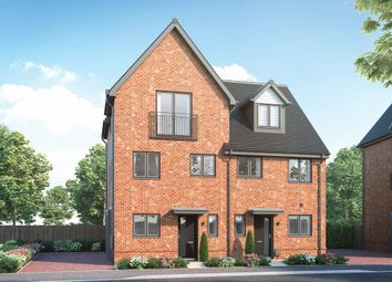 """Thumbnail 3 bedroom semi-detached house for sale in """"Ickhurst"""" at Old Wokingham Road, Crowthorne"""