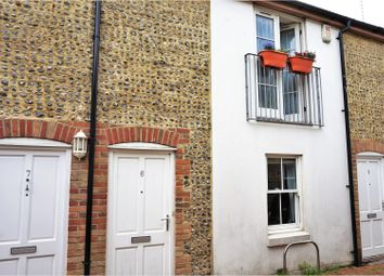 Thumbnail 2 bed terraced house for sale in Brunswick Row, Brighton