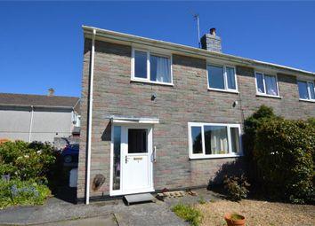 Thumbnail 3 bed semi-detached house for sale in The Glebe, Menheniot, Liskeard, Cornwall