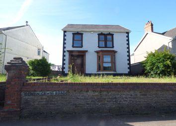 Thumbnail 3 bed detached house for sale in Llwyn Crwn Road, Llansamlet, Swansea