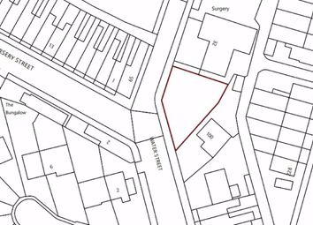 Thumbnail Land for sale in Water Street, Stoke-On-Trent