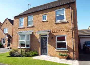 Thumbnail 4 bed detached house for sale in Cedar Way, Selby