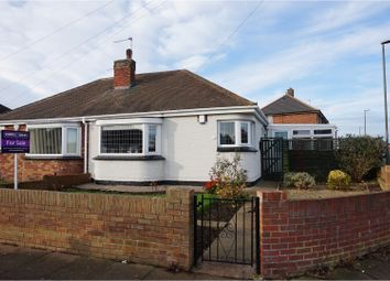Thumbnail 2 bed semi-detached bungalow for sale in Crowland Avenue, Grimsby