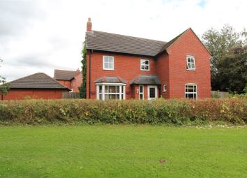 Thumbnail 4 bed detached house for sale in Guttery Close, Wem, Shrewsbury