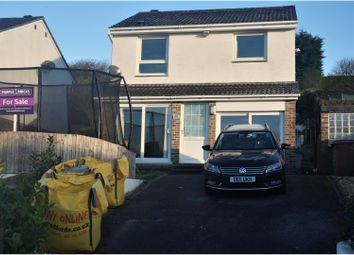 Thumbnail 4 bed detached house for sale in Yealmpstone Close, Plymouth