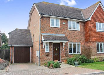 Thumbnail 3 bed semi-detached house for sale in Old Nursery Close, Seaford