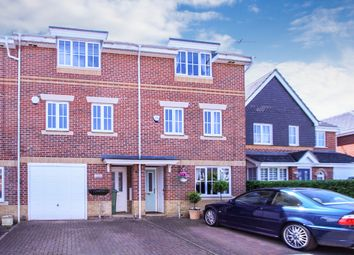 Thumbnail 3 bed terraced house for sale in Trenchard Avenue, Halton, Aylesbury