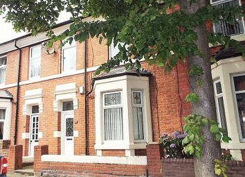 Thumbnail 4 bed terraced house for sale in Queen Alexandra Road, North Shields
