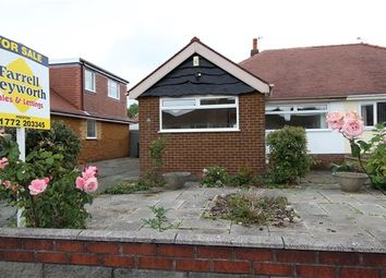 Thumbnail 3 bed bungalow for sale in Moorland Avenue, Preston