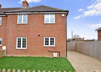 Thumbnail 3 bedroom end terrace house for sale in Fairview Road, Elvington, Dover, Kent