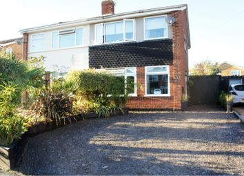 Thumbnail 3 bed semi-detached house for sale in Bramley Way, Chelmsford