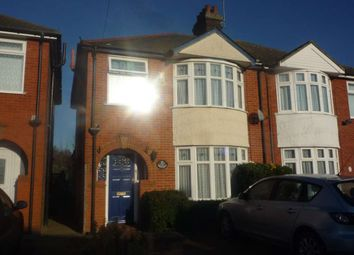 Thumbnail 3 bedroom semi-detached house to rent in Dales View Road, Ipswich