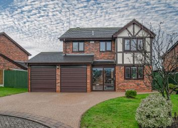 Thumbnail 4 bed detached house for sale in Hither Green Lane, Redditch