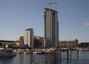 Thumbnail 1 bed flat to rent in Meridian Wharf, Maritime Quarter, Swansea