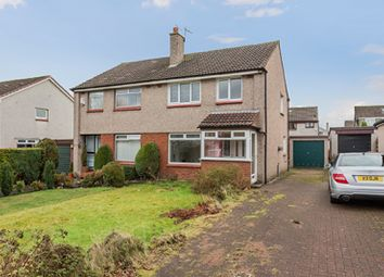 Thumbnail 3 bed semi-detached house for sale in Burns Avenue, Bishopton, Renfrewshire