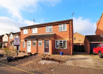 Thumbnail 3 bed semi-detached house for sale in Dawes Close, Greenhithe