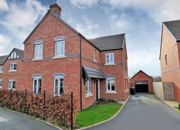 Thumbnail 4 bed detached house for sale in Meadow Fields, Rolleston-On-Dove, Burton-On-Trent
