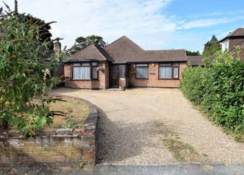 Thumbnail 3 bed detached bungalow for sale in Deancroft Road, Chalfont St. Peter, Gerrards Cross