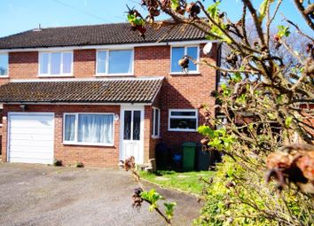 Thumbnail 4 bedroom semi-detached house for sale in Forest Road, Bordon