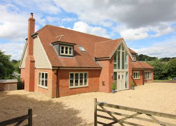Thumbnail 5 bed detached house for sale in Petersfield Road, Ropley, Alresford