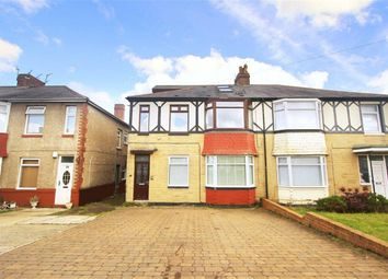 Thumbnail 3 bed flat for sale in Mitford Gardens, Wideopen, Newcastle Upon Tyne