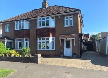 Thumbnail 3 bed semi-detached house for sale in Heol Y Bont, Rhiwbina, Cardiff, Caerdydd