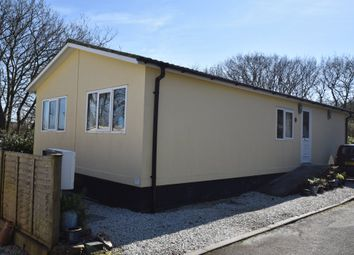 Thumbnail 2 bed mobile/park home for sale in Coombe Park, Bell Lake, Camborne, Cornwall