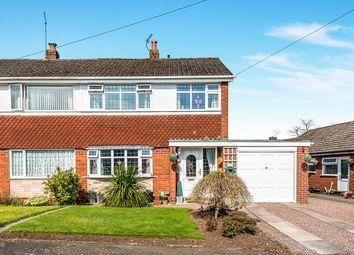 Thumbnail 3 bed semi-detached house for sale in Bracken Close, Tittensor, Stoke-On-Trent