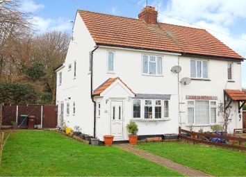 Thumbnail 3 bed semi-detached house for sale in The Close, Benfleet