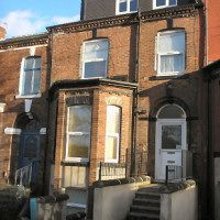 Thumbnail 2 bed flat to rent in Cemetery Road, Leeds