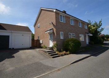 Thumbnail 3 bed semi-detached house for sale in Polmennor Road, Falmouth