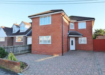 Thumbnail 4 bed detached house for sale in Chapel Road, West End, Southampton