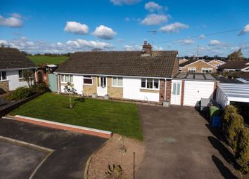 Thumbnail 2 bed detached bungalow for sale in Laburnum Close, Great Bridgeford, Stafford