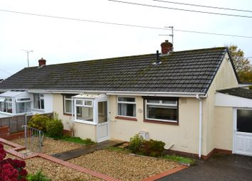Thumbnail 3 bed semi-detached bungalow for sale in Chanters Hill, Barnstaple