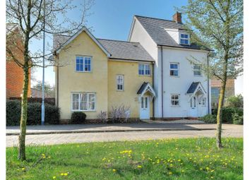 Thumbnail 3 bed semi-detached house for sale in Greenland Avenue, Wymondham